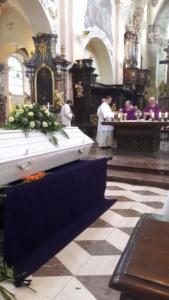 pohřební mše sv.